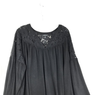 Primary Photo - BRAND: LANE BRYANT STYLE: TOP LONG SLEEVE COLOR: BLACK SIZE: 2X OTHER INFO: LACE SKU: 164-164189-658