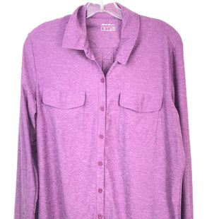 Primary Photo - BRAND: EDDIE BAUER STYLE: TOP LONG SLEEVE COLOR: PURPLE SIZE: XL SKU: 164-164180-2332