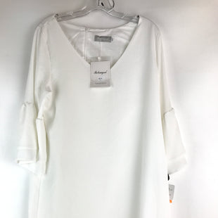 Primary Photo - BRAND:    CLOTHES MENTOR STYLE: DRESS SHORT LONG SLEEVE COLOR: WHITE SIZE: L OTHER INFO: NEW! BELONGSCI SKU: 164-164175-4367