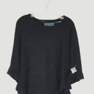 Primary Photo - BRAND: KAREN SCOTT STYLE: PONCHO COLOR: BLACK SIZE: S OTHER INFO: NEW! SKU: 164-164196-535