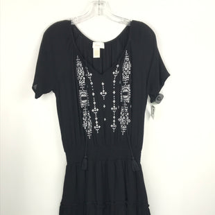 Primary Photo - BRAND: BRAEVE STYLE: DRESS SHORT SHORT SLEEVE COLOR: BLACK WHITE SIZE: S SKU: 164-164140-16925