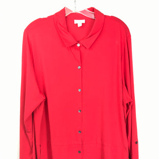 Primary Photo - BRAND: J JILL STYLE: TUNIC LONG SLEEVE COLOR: RED SIZE: XL SKU: 164-164180-2322