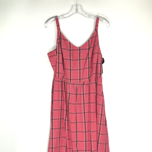 Primary Photo - BRAND: OLD NAVY STYLE: DRESS SHORT SLEEVELESS COLOR: RED PLAID SIZE: XL SKU: 164-164196-545