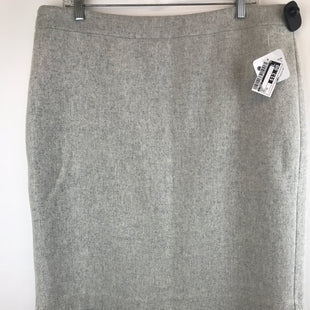 Primary Photo - BRAND: J CREW O STYLE: SKIRT COLOR: GREY SIZE: 14 OTHER INFO: NEW! SKU: 164-164136-19456