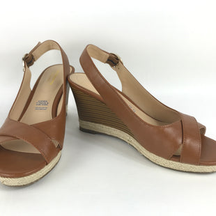 Primary Photo - BRAND: LIZ CLAIBORNE O STYLE: SANDALS HIGH COLOR: BROWN SIZE: 7 OTHER INFO: NEW! NON LEATHER SKU: 164-164175-4872