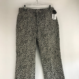Primary Photo - BRAND: BANANA REPUBLIC STYLE: PANTS COLOR: ANIMAL PRINT SIZE: 10 OTHER INFO: NEW! MID-RISE SKU: 164-164185-71