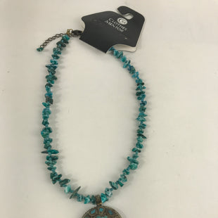 Primary Photo - BRAND:    CLOTHES MENTOR STYLE: NECKLACE COLOR: TURQUOISE SKU: 164-164175-4779