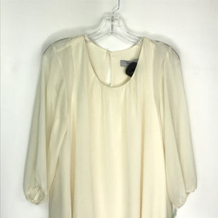Primary Photo - BRAND: THEME STYLE: TOP LONG SLEEVE COLOR: CREAM SIZE: M SKU: 164-164175-5292