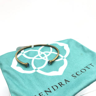 Primary Photo - BRAND: KENDRA SCOTT JEWLERY STYLE: BRACELET COLOR: GOLD OTHER INFO: CUFF DICHROIC GLASS SKU: 164-164196-430