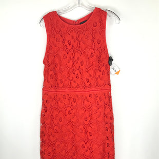 Primary Photo - BRAND: ANN TAYLOR O STYLE: DRESS SHORT SLEEVELESS COLOR: ORANGE SIZE: M OTHER INFO: SIZE 10 SKU: 164-164140-16135