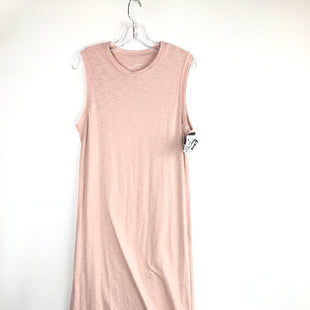 Primary Photo - BRAND: UNIVERSAL THREAD STYLE: DRESS LONG SLEEVELESS COLOR: PINK SIZE: M OTHER INFO: KNIT MAXI SKU: 164-164140-16933