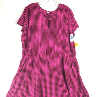 Primary Photo - BRAND: OLD NAVY STYLE: DRESS SHORT SHORT SLEEVE COLOR: PINK SIZE: XXL OTHER INFO: NEW! SKU: 164-164183-1254