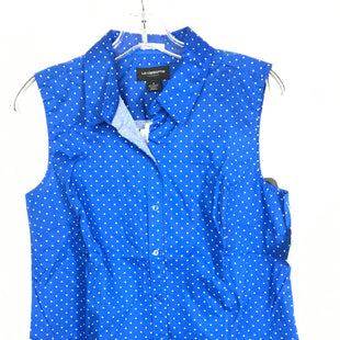 Primary Photo - BRAND: LIZ CLAIBORNE STYLE: TOP SLEEVELESS COLOR: BLUE SIZE: M OTHER INFO: NEW! SKU: 164-164185-933