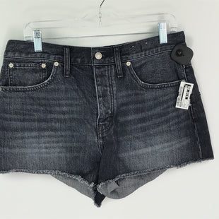 Primary Photo - BRAND: MADEWELL STYLE: SHORTS COLOR: BLACK DENIM SIZE: 6 SKU: 164-164185-985