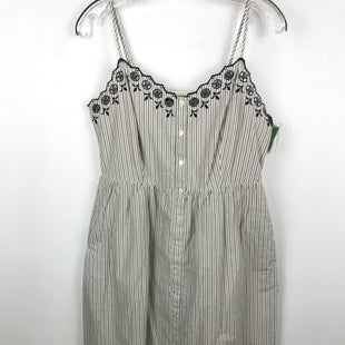 Primary Photo - BRAND: MADEWELL STYLE: DRESS LONG SLEEVELESS COLOR: BLUE WHITE SIZE: S OTHER INFO: SIZE: 6 SKU: 164-164189-682