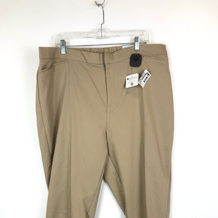 Primary Photo - BRAND: CATHERINES STYLE: PANTS COLOR: KHAKI SIZE: 22 OTHER INFO: NEW! SKU: 164-164175-3392