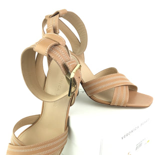 Primary Photo - BRAND:  CMA STYLE: SANDALS HIGH COLOR: NUDE SIZE: 9.5 OTHER INFO: VERONICA BEARD  - KRESBY LE, WITH BOX & DUST BAG SKU: 164-164175-4994