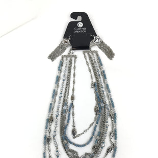 Primary Photo - BRAND: WHITE HOUSE BLACK MARKET O STYLE: NECKLACE SET COLOR: SILVER SIZE: 03 PIECE SET OTHER INFO: MULTI STRAND, BLUE BEADS SKU: 164-164140-12223