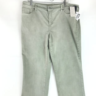 Primary Photo - BRAND: CHICOS STYLE: PANTS COLOR: DENIM GREEN SIZE: 16 OTHER INFO: NEW! CHICOS SZ 3P SKU: 164-164140-16726