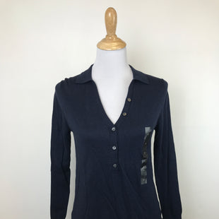 Primary Photo - BRAND: BANANA REPUBLIC STYLE: SWEATER CARDIGAN LIGHTWEIGHT COLOR: NAVY SIZE: S OTHER INFO: PETTITE, NEW W/ TAG! SKU: 164-164175-3336