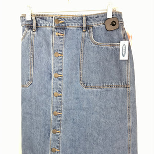 Primary Photo - BRAND: OLD NAVY STYLE: SKIRT COLOR: DENIM SIZE: 14 OTHER INFO: NEW! SKU: 164-164183-1249