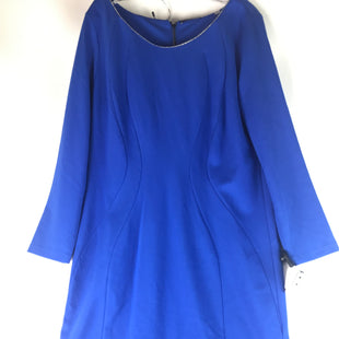 Primary Photo - BRAND: TAHARI STYLE: DRESS SHORT LONG SLEEVE COLOR: BLUE SIZE: XL OTHER INFO: NEW! SKU: 164-164140-16159