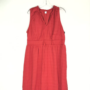 Primary Photo - BRAND: OLD NAVY STYLE: DRESS SHORT SLEEVELESS COLOR: RED SIZE: XL SKU: 164-164196-553