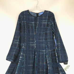 Primary Photo - BRAND: VERA WANG STYLE: DRESS SHORT LONG SLEEVE COLOR: BLUE SIZE: M OTHER INFO: NEW WITH TAG! SKU: 164-164175-5194