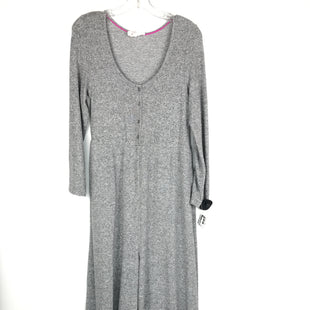 Primary Photo - BRAND: ANTHROPOLOGIE STYLE: DRESS LONG LONG SLEEVE COLOR: GREY SIZE: S OTHER INFO: JUMPER SKU: 164-164185-892