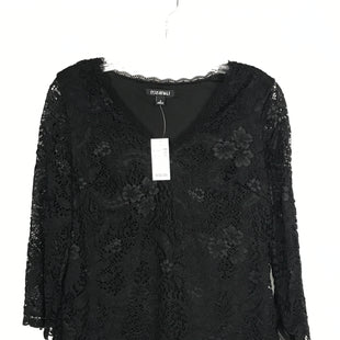 Primary Photo - BRAND: ROZ AND ALI STYLE: TOP LONG SLEEVE COLOR: BLACK SIZE: S OTHER INFO: NEW! LACE SKU: 164-164140-16331