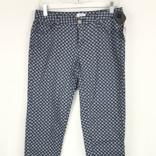 Primary Photo - BRAND: CROWN AND IVY STYLE: PANTS COLOR: BLUE WHITE SIZE: 6 OTHER INFO: SZ 6 PETITE SKU: 164-164196-279