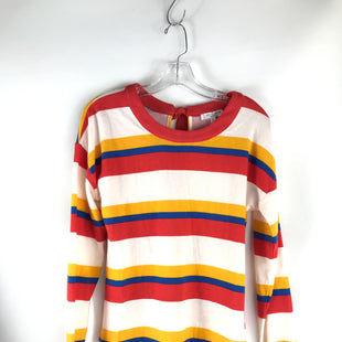 Primary Photo - BRAND: BLU PEPPER STYLE: TOP LONG SLEEVE COLOR: RED WHITE BLUE SIZE: S OTHER INFO: NEW! STRIPED SKU: 164-164140-15042