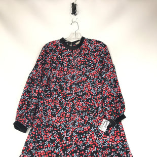 Primary Photo - BRAND: ANN TAYLOR LOFT STYLE: DRESS SHORT LONG SLEEVE COLOR: BLACK RED SIZE: PETITE MEDIUMOTHER INFO: PETITESKU: 164-164175-5198.