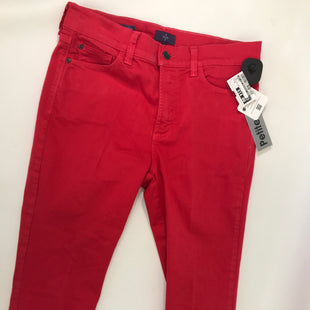 Primary Photo - BRAND: NOT YOUR DAUGHTERS JEANS O STYLE: CAPRIS COLOR: RED SIZE: 8 OTHER INFO: PETTITE WIDE CUFF CAPRI SKU: 164-164175-4140