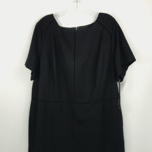 Primary Photo - BRAND: TALBOTS STYLE: DRESS SHORT SHORT SLEEVE COLOR: BLACK SIZE: 2X OTHER INFO: NEW! SKU: 164-164140-16780