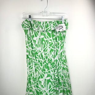 Primary Photo - BRAND: LILLY PULITZER STYLE: DRESS SHORT SLEEVELESS COLOR: WHITE GREEN SIZE: L OTHER INFO: RUNS SMALL * SKU: 164-164175-5013