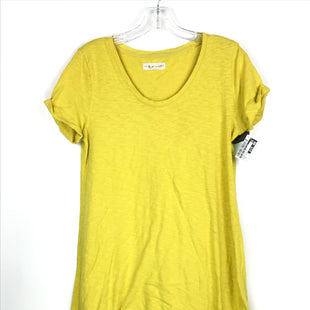 Primary Photo - BRAND: LOU AND GREY BY LOFT STYLE: DRESS SHORT SHORT SLEEVE COLOR: YELLOW SIZE: S OTHER INFO: TSHIRT DRESS SKU: 164-164196-298