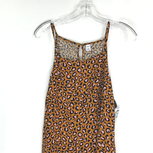 Primary Photo - BRAND: OLD NAVY STYLE: TOP SLEEVELESS COLOR: ANIMAL PRINT SIZE: XL OTHER INFO: RUST/BLK/PINK SKU: 164-164196-551