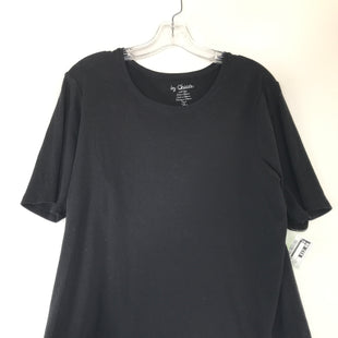 Primary Photo - BRAND: CHICOS STYLE: TOP SHORT SLEEVE COLOR: BLACK SIZE: XL OTHER INFO: SIZE 3 SKU: 164-164185-699