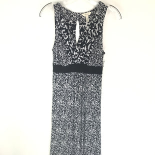 Primary Photo - BRAND: SOMA STYLE: DRESS LONG SLEEVELESS COLOR: BLACK WHITE SIZE: S SKU: 164-164140-16257
