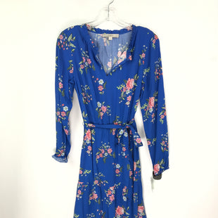 Primary Photo - BRAND: ANN TAYLOR LOFT STYLE: DRESS SHORT LONG SLEEVE COLOR: BLUE SIZE: PETITE   SMALL OTHER INFO: SIZE 4 SKU: 164-164185-781
