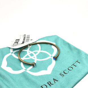 Primary Photo - BRAND: KENDRA SCOTT JEWLERY STYLE: BRACELET COLOR: GOLD OTHER INFO: GOLD DICHROIC GLASS CUFF SKU: 164-164196-431