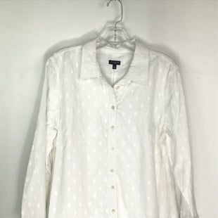 Primary Photo - BRAND: TALBOTS O STYLE: TOP LONG SLEEVE COLOR: WHITE SIZE: PETITE   XL SKU: 164-164140-17009