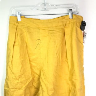 Primary Photo - BRAND: AVA & VIV STYLE: SHORTS COLOR: YELLOW SIZE: XL SKU: 164-164183-1243