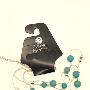 Primary Photo - BRAND:    CLOTHES MENTOR STYLE: NECKLACE COLOR: SILVER OTHER INFO: TURQUOISE BEADS SKU: 164-164185-52