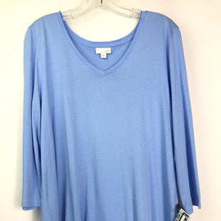 Primary Photo - BRAND: J JILL STYLE: TOP LONG SLEEVE COLOR: BLUE SIZE: XL SKU: 164-164180-2336