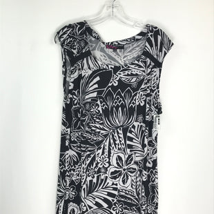 Primary Photo - BRAND: PECK AND PECK STYLE: DRESS SHORT SLEEVELESS COLOR: BLACK WHITE SIZE: L SKU: 164-164196-512