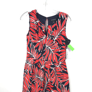 Primary Photo - BRAND: EN FOCUS STYLE: DRESS SHORT SLEEVELESS COLOR: RED BLUE SIZE: M OTHER INFO: NEW! FLORAL SKU: 164-164196-222