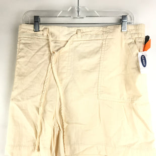 Primary Photo - BRAND: OLD NAVY STYLE: SHORTS COLOR: CREAM SIZE: XXL OTHER INFO: NEW! SKU: 164-164183-1250