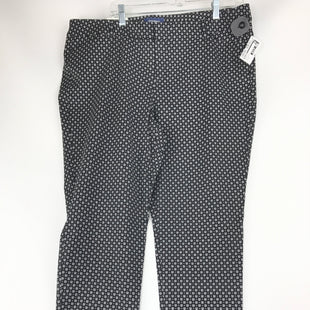 Primary Photo - BRAND: OLD NAVY STYLE: PANTS COLOR: BLACK WHITE SIZE: 18 OTHER INFO: NEW! REGULAR PIXIE MID-RISE SKU: 164-164175-5250